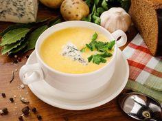 Суп-пюре сырный / Простые рецепты