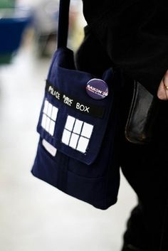 tardis bag/purse