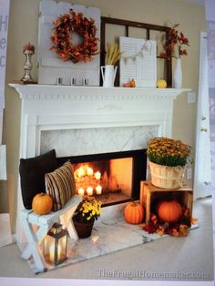 DIY Fall Wreath + My Fall Mantle Decor - Okay, so let's get this out of here .DIY Fall Wreath + My Fall Mantle Decor - Okay, let's get this out of the way.