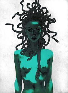 Comic Book Illustrations by Joshua Middleton | Inspiration Grid | Design Inspiration
