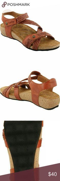4f9f13ba2b1 Taos Sandals Wedge New - Taos  Trulie  Wedge Sandal taos Shoes Taos Sandals