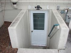 """basement entrance 