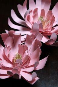 Wedding DIY paper flowers