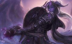 Paladin, Horns, World Of Warcraft, Draenei HD Wallpaper Desktop Background