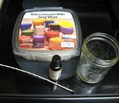 DIY Soy Candle