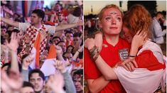 An initial wave of elation turned to heartbreak as English fans saw their hopes crushed by a history-making Croatia, who have reached their. Geo Tv, Geo News, Croatia, Pakistan, England, Clouds, Dreams, History, Pictures