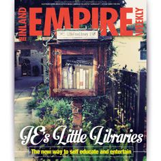 #New #issue out! Get ready for a feeling of #discovery, #exclusivity and a sense of #DIY #quirk. Little Free Library, or book exchanges, have emerged as #internationally revered staples for #communal #literary #enlightenment. #Read our latest feature #story on the #IE's latest #sensation!  http://ieweekly.com/2013/11/feature-stories/mini-libraries-take-the-ie-by-storm/