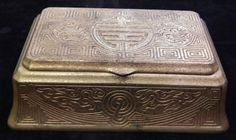 Tiffany Studios Desk Set Large Box Chinese Pattern 1773 | eBay