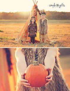 Adorable Thanksgiving photo shoot!