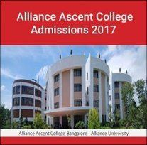 Alliance Ascent College MBA admissions 2017