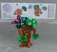Der Geheimnisvolle Zauberwald 1997 Auswahl Plastik Puzzle Mit Zettel Ueei Figur   eBay