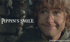 Pippin's smile. Soooo cuuuute! I can't resist, it's just adorable, like my puppy haha. :)