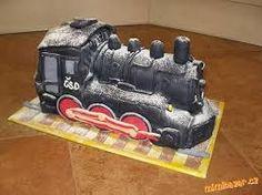 Výsledek obrázku pro dort lokomotiva