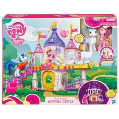 My Little Pony Pony Princess Wedding Castle with Prince Shining Armor and Princess Cadance