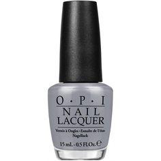 50 sfumature di grigio e OPI la collezione di smalti ❤ liked on Polyvore featuring nail polish and cosmetics