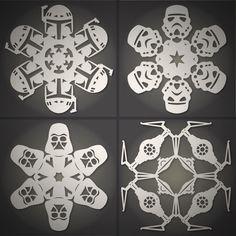 Star Wars Snowflakes