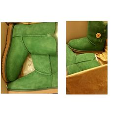 100% Authentic Uggs (PLEASE READ) Brand new bailey button uggs.....Will sell on another site for 105.00 UGG Shoes Winter & Rain Boots