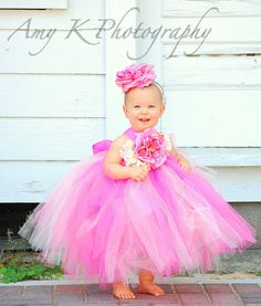 Flower Girl Tutu Dress by 4TheLittlePea @Etsy