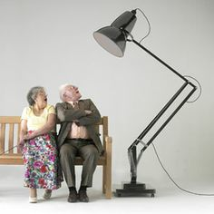 Giant Anglepoise 1227 in Grey from Lights 4 Living