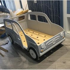 Ещё одна машинка готова радовать своего хозяина) #кроватьмашина #кроватьмашинка #детскаякроватьназаказ
