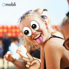 Get ready for a smiley #weekend with our new #Emoji filter. A bit of silliness is a bless :) #mobli