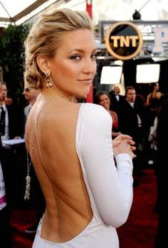 7a7bfa3581 Kate Hudson Pinned Up Ringlets - The beautiful Kate hudson showed off an  elegant hair style at the SAG Awards. Her pinned up ringlets were a nice  choice for ...