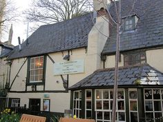 Turf Tavern pub, Oxford, Oxfordshire, England