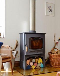 Beautiful Mix between old and new (via Designsponge), DIY fire wood