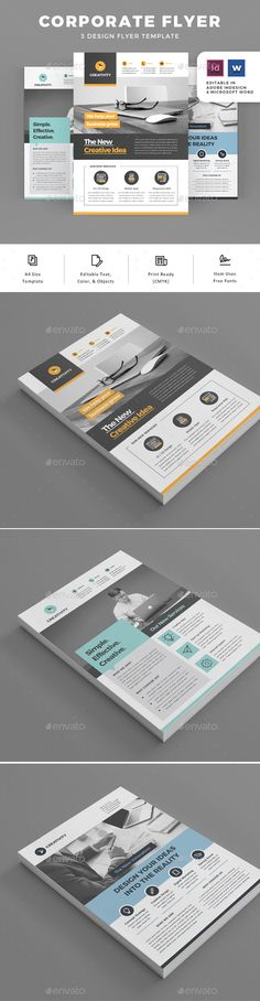 Flyers - Corporate Flyers Download here: https://graphicriver.net/item/flyers/19784039?ref=classicdesignp
