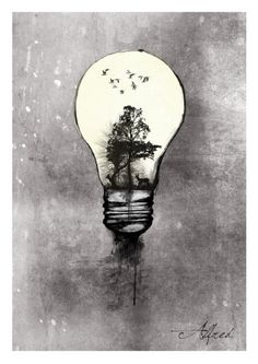 Illustration Crush - Alfred Basha. there is something really cool about this page, and the use of contrast