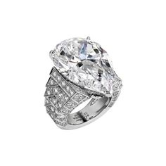 Cartier Unveils its Royal Collection for the 27th Biennale des Antiquaires - a sparkling diamond ring