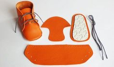 The soft European-style leather baby boots you make yourself.