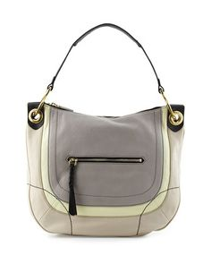 3e83ce466590 Samara Colorblock Hobo Bag