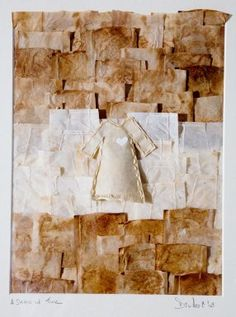 Tea bag paper, coffee filter paper and thread Di West   visualartist.info
