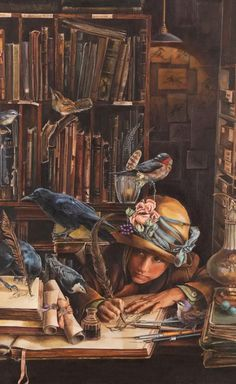 Lori Preusch.   Children, beg for a story, then read on your own & never forget to write! Don't ever lose your wonderful imagination!