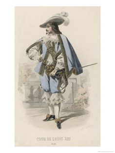 French Gentleman at the Court of Louis XIII