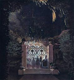Fireworks in the Park Konstantin Somov  1907