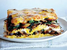 Vegetable Lasagna with Butternut Béchamel   For a hearty, make-ahead meal, you can't go wrong with a classic lasagna dish! From light veggie lasagnas to rich and meaty lasagnas, you're sure to find one your family will love in this collection of our best lasagna recipes!