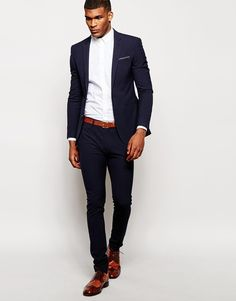 ASOS Super Skinny Suit in Charcoal | Threads | Pinterest | ASOS
