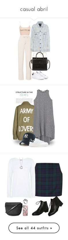 """""""casual abril"""" by fersg ❤ liked on Polyvore featuring Theory, Alexander Wang, Givenchy, adidas Originals, SET, MANGO, '47 Brand, tfp, Topshop and ASOS"""