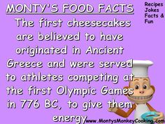 Facts about cooking Nutella no-bake cheesecake with kids - from www.MontysMonkeyCooking.com