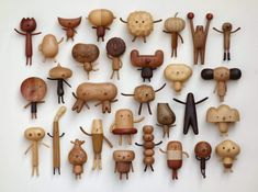 An Artist Brings His Kids Ideas into Cute Wooden Character