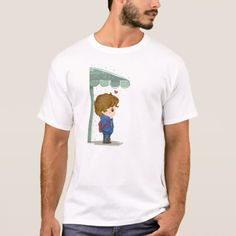 Rain Love 2 T-Shirt - tap, personalize, buy right now! Fitness Models, Rain, Casual, Fabric, Sleeves, Cotton, Mens Tops, T Shirt, How To Wear