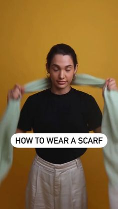 Diy Clothes Life Hacks, Teen Life Hacks, Clothing Hacks, Cute Skirt Outfits, Casual Outfits, Fashion Outfits, Ways To Wear A Scarf, How To Wear Scarves, Mirror Candy