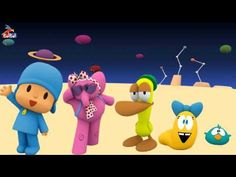 Finger Family Collection 093 | Pocoyo-Barbie-Micky mouse-Balloon Finger ...