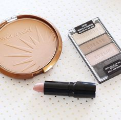 Highlighting natural beauty with a soft neutral palette is always trendy. Color Icon Bronzer in Reserve Your Cabana. Color Icon Eye Shadow Trio in Walking on Eggshells and Silk Finish in A Short Affair