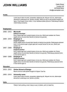 free resume builder microsoft word best with high school