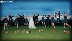 Sarah & Brian's September 2013 #wedding at the Basking Ridge Country Club :D (photo by deanmichaelstudio.com) #njwedding #love #fall #blue #photography #deanmichaelstudio