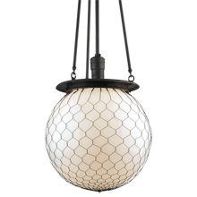Hood globe chandelier- Rejuvenation