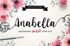 Anabella Script by MediaLab.Co on @creativemarket